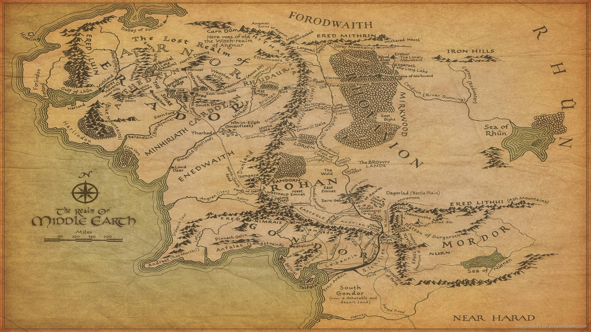 10 Latest Lord Of The Rings Map Background FULL HD 1080p For PC Desktop