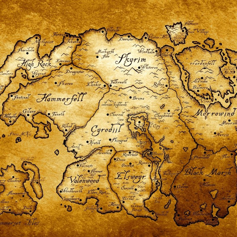 10 New Map Of Tamriel Wallpaper FULL HD 1080p For PC Background 2020 free download map of tamriel edited to look like an old paper map imgur 800x800