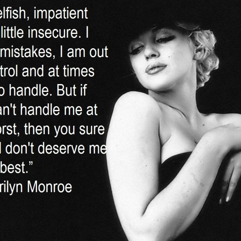 10 Top Marilyn Monroe Quote Wallpapers FULL HD 1920×1080 For PC Desktop 2018 free download marilyn monroe quotes wallpapers desktop desktop wallpaper box 800x800