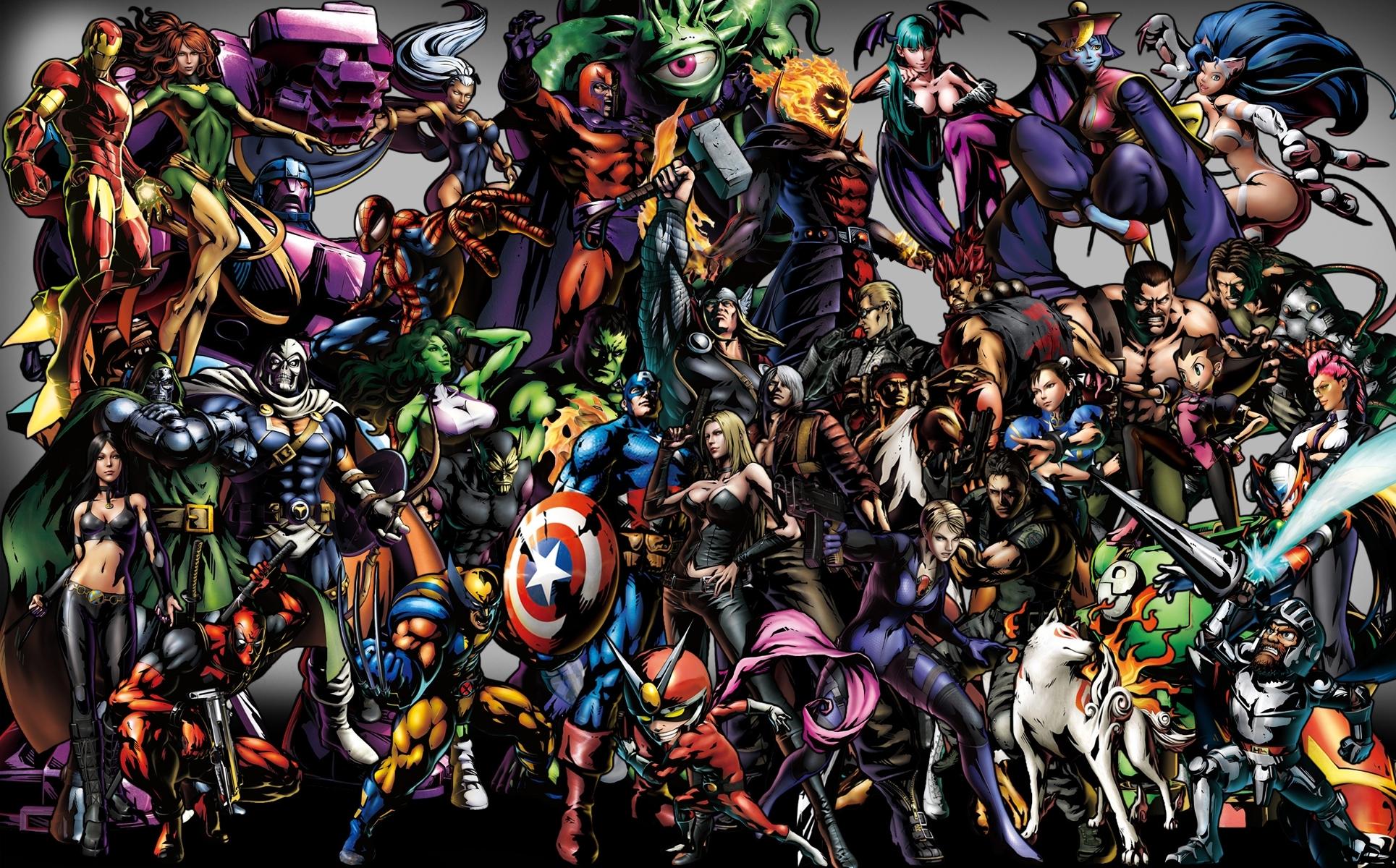 10 Best Marvel Heroes Hd Wallpaper FULL HD 1080p For PC ...