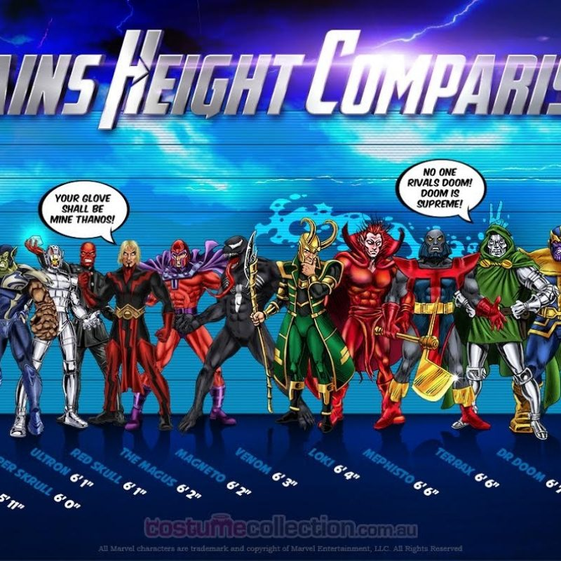 10 Latest All Marvel Villains Names And Pictures FULL HD 1080p For PC Desktop 2018 free download marvel villains height comparison 800x800