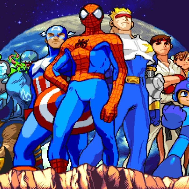 10 Best Marvel Vs Capcom 2 Wallpaper FULL HD 1080p For PC Desktop 2018 free download marvel vs capcom 295097 walldevil 800x800