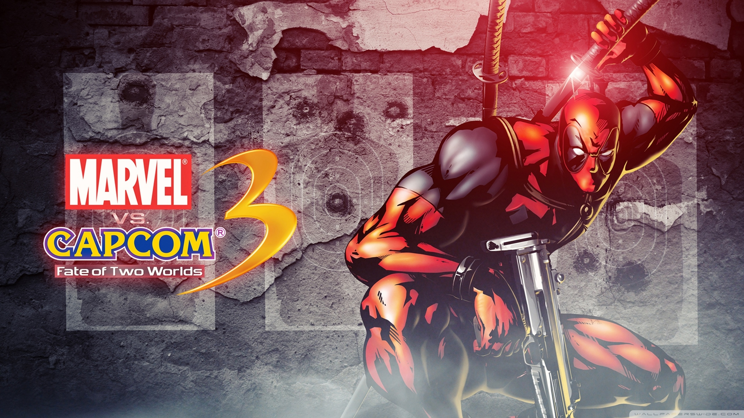 marvel vs capcom 3 - deadpool ❤ 4k hd desktop wallpaper for 4k