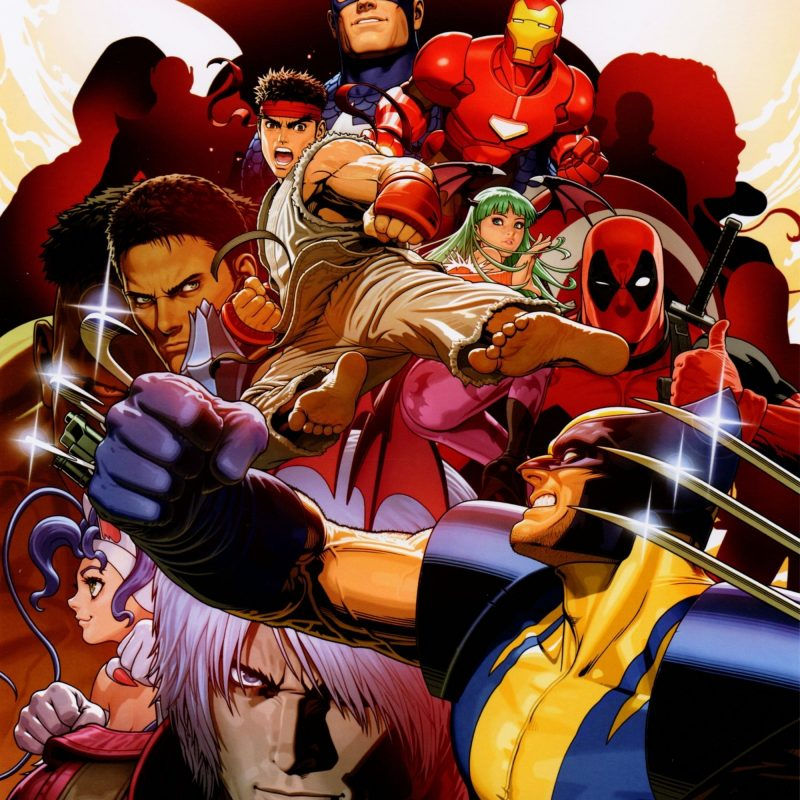 10 Best Marvel Vs Capcom 2 Wallpaper FULL HD 1080p For PC Desktop 2018 free download marvel vs capcom 3 promotional art shinkiro pop1up 800x800