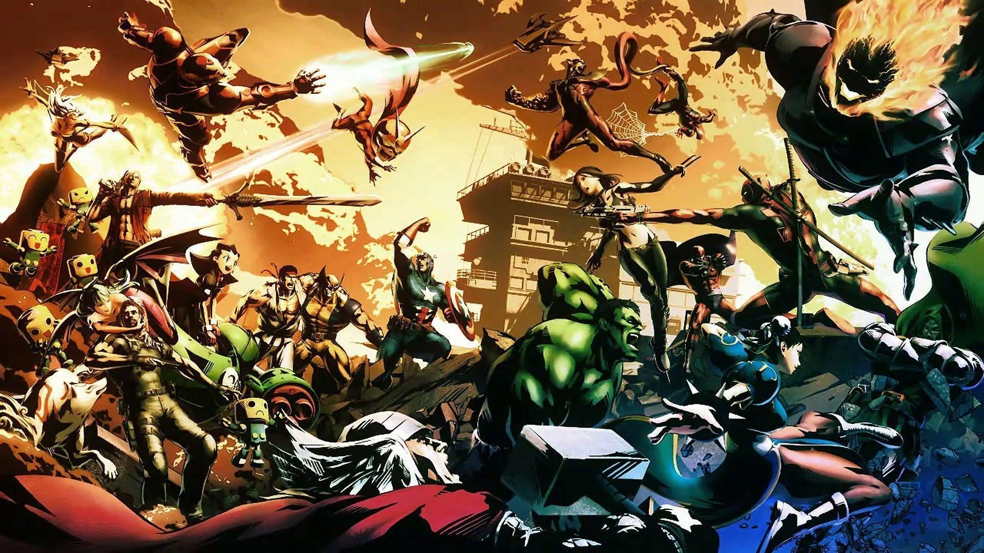 marvel vs capcom 3 wallpapers - wallpaper cave