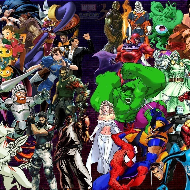 10 Best Marvel Vs Capcom 2 Wallpaper FULL HD 1080p For PC Desktop 2018 free download marvel vs capcom wallpapers wallpaper cave 1 800x800