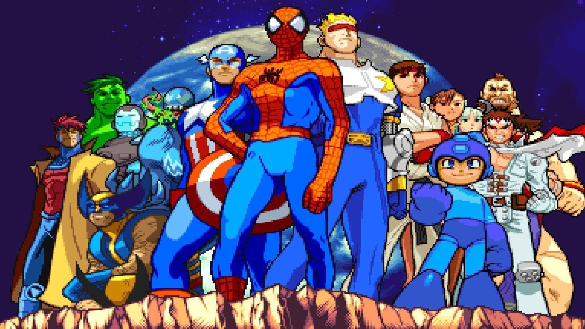 marvel vs capcom wallpapers - wallpaper cave