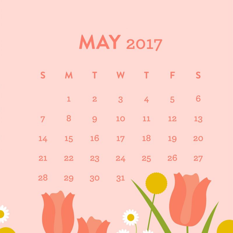 10 Top May 2017 Calendar Wallpaper FULL HD 1080p For PC Background 2018 free download may 2017 calendar wallpaper sarah hearts 800x800