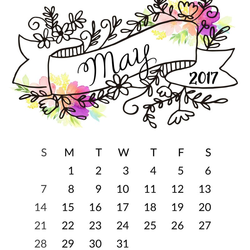 10 Top May 2017 Calendar Wallpaper FULL HD 1080p For PC Background 2018 free download may 2017 calendar wallpapers wallpaper cave 800x800