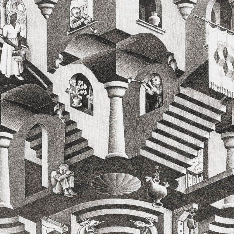 10 Best Mc Escher Wall Paper FULL HD 1920×1080 For PC Background 2018 free download mc escher 648931 walldevil 800x800