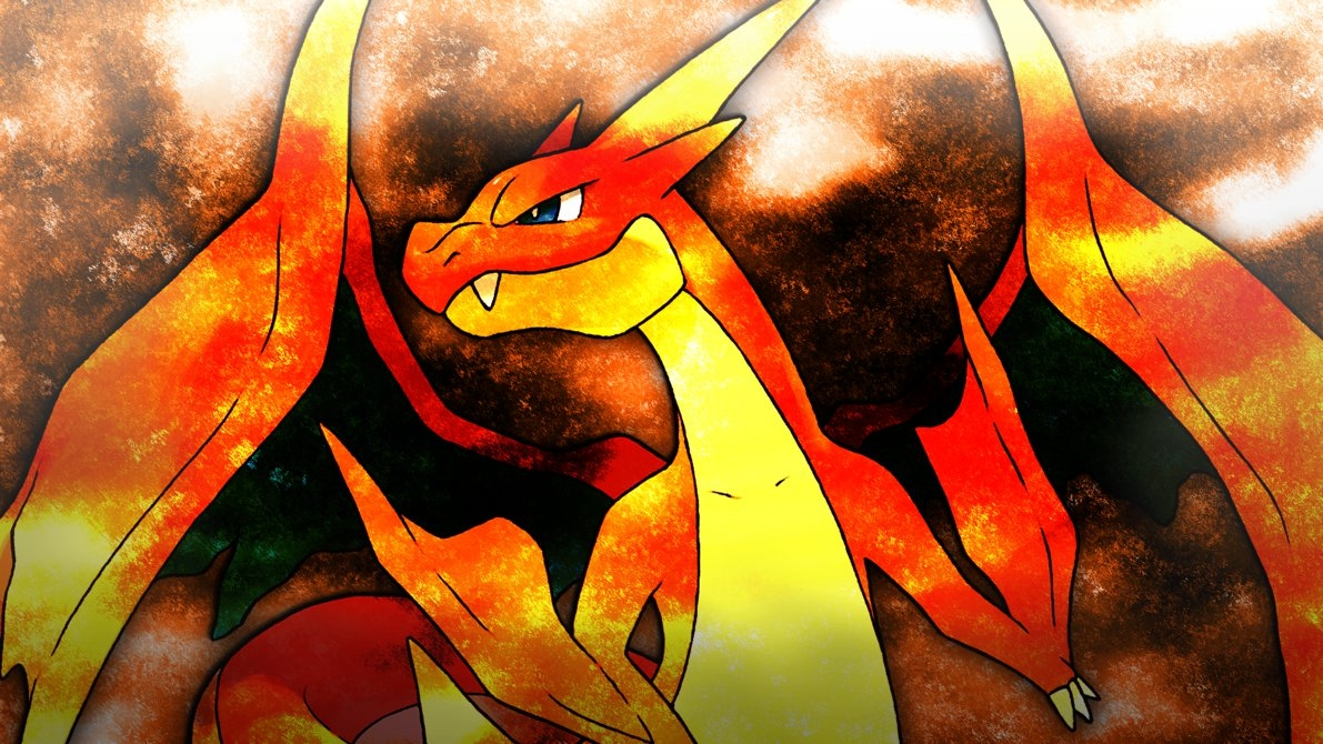 Title Mega Charizard Y Wallpaper 4glench On Deviantart Dimension 1191 X 670 File Type JPG JPEG