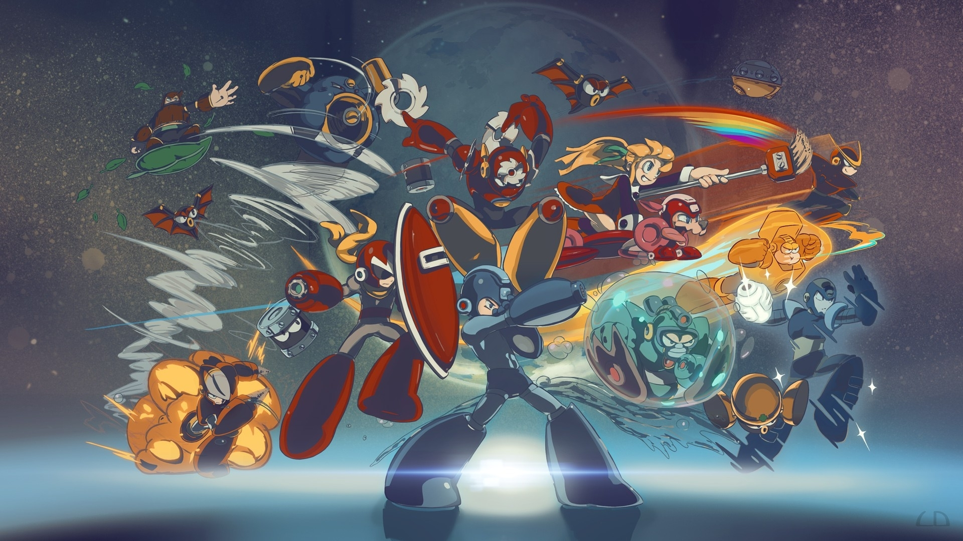 megaman-wallpaper-hd-free-download – wallpaper.wiki