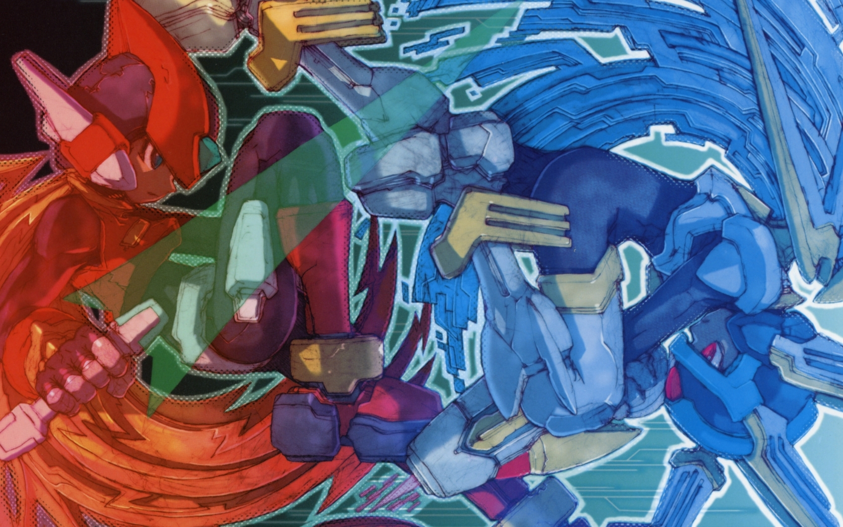 megaman zero :: wallpapers