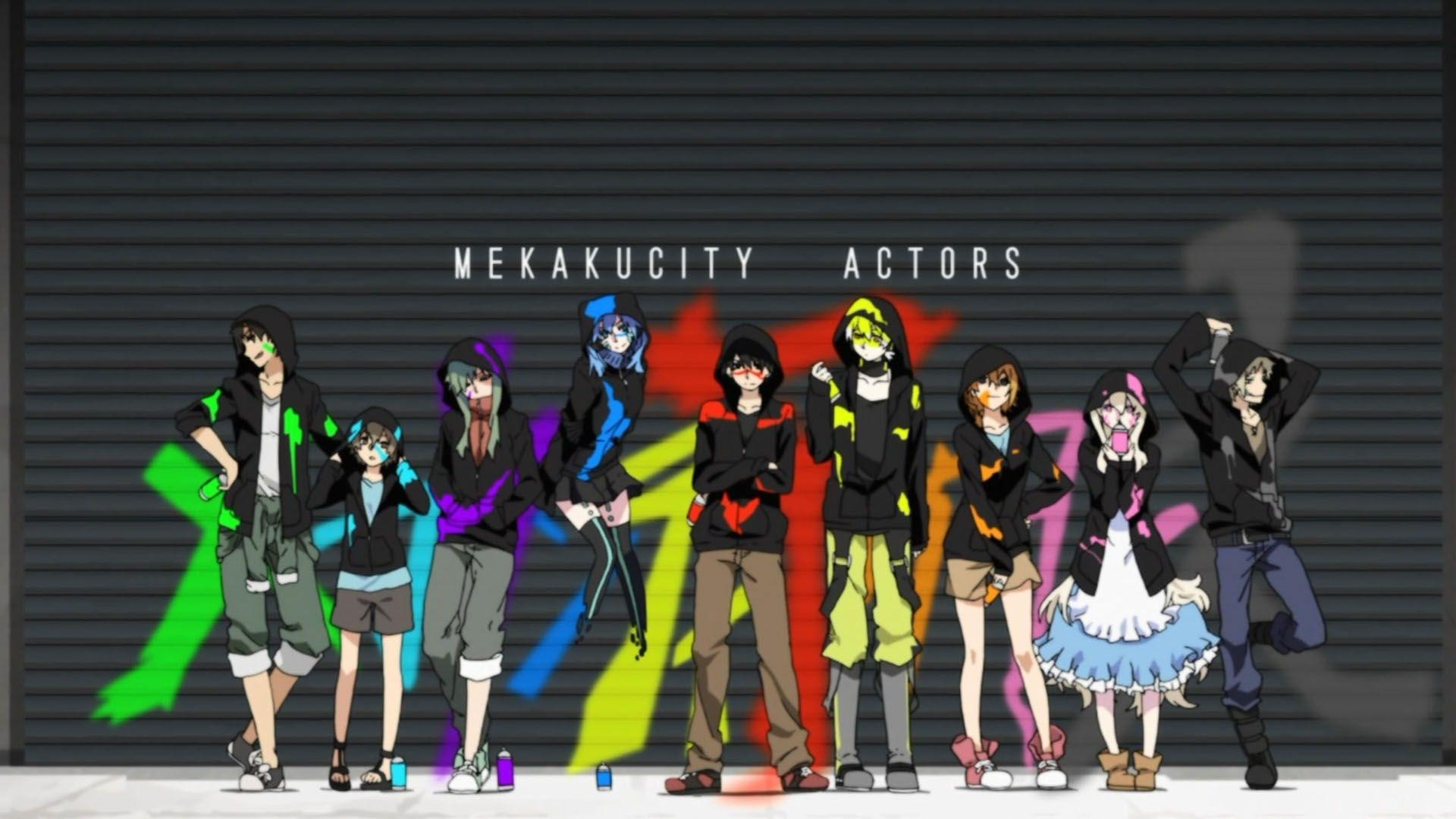 mekakucity actors wallpapers - wallpaper cave