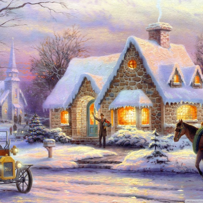 10 Top Thomas Kinkade Christmas Wallpaper Desktop FULL HD 1080p For PC Background 2018 free download memories of christmasthomas kinkade e29da4 4k hd desktop wallpaper 1 800x800