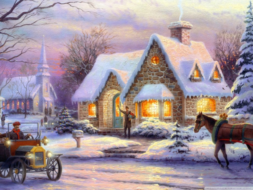 10 New Thomas Kinkade Christmas Wallpaper Hd FULL HD 1920×1080 For PC Desktop 2018 free download memories of christmasthomas kinkade e29da4 4k hd desktop wallpaper 1024x768