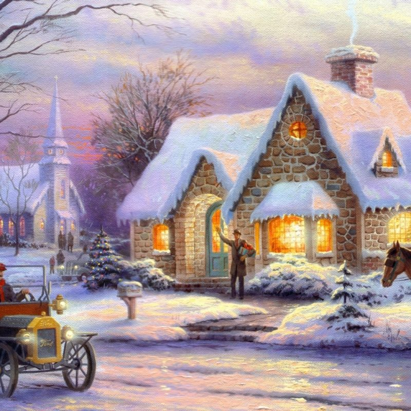 10 Most Popular Christmas Thomas Kinkade Wallpaper FULL HD 1920×1080 For PC Background 2018 free download memories of christmasthomas kinkade e29da4 4k hd desktop wallpaper 2 800x800