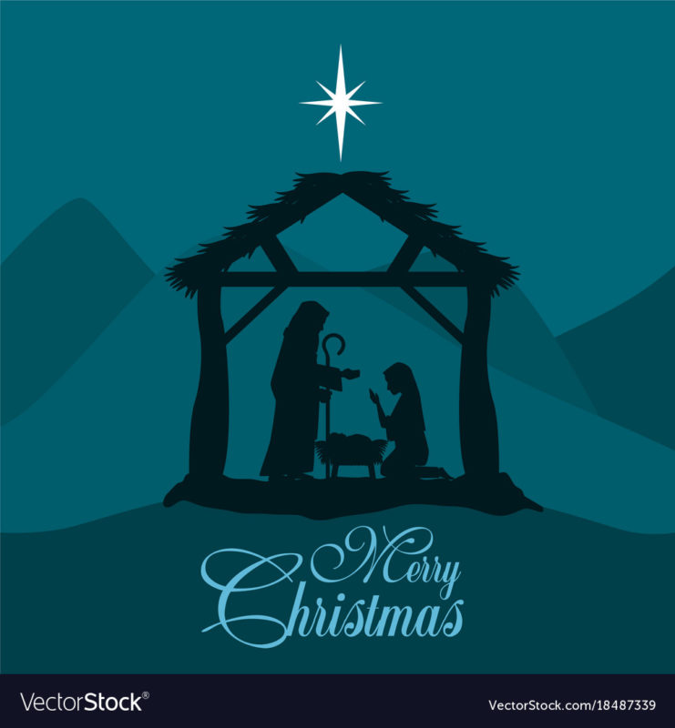 10 Top Christmas Nativity Pics FULL HD 1080p For PC Desktop 2020 free download merry christmas nativity scene with holy family vector image 741x800