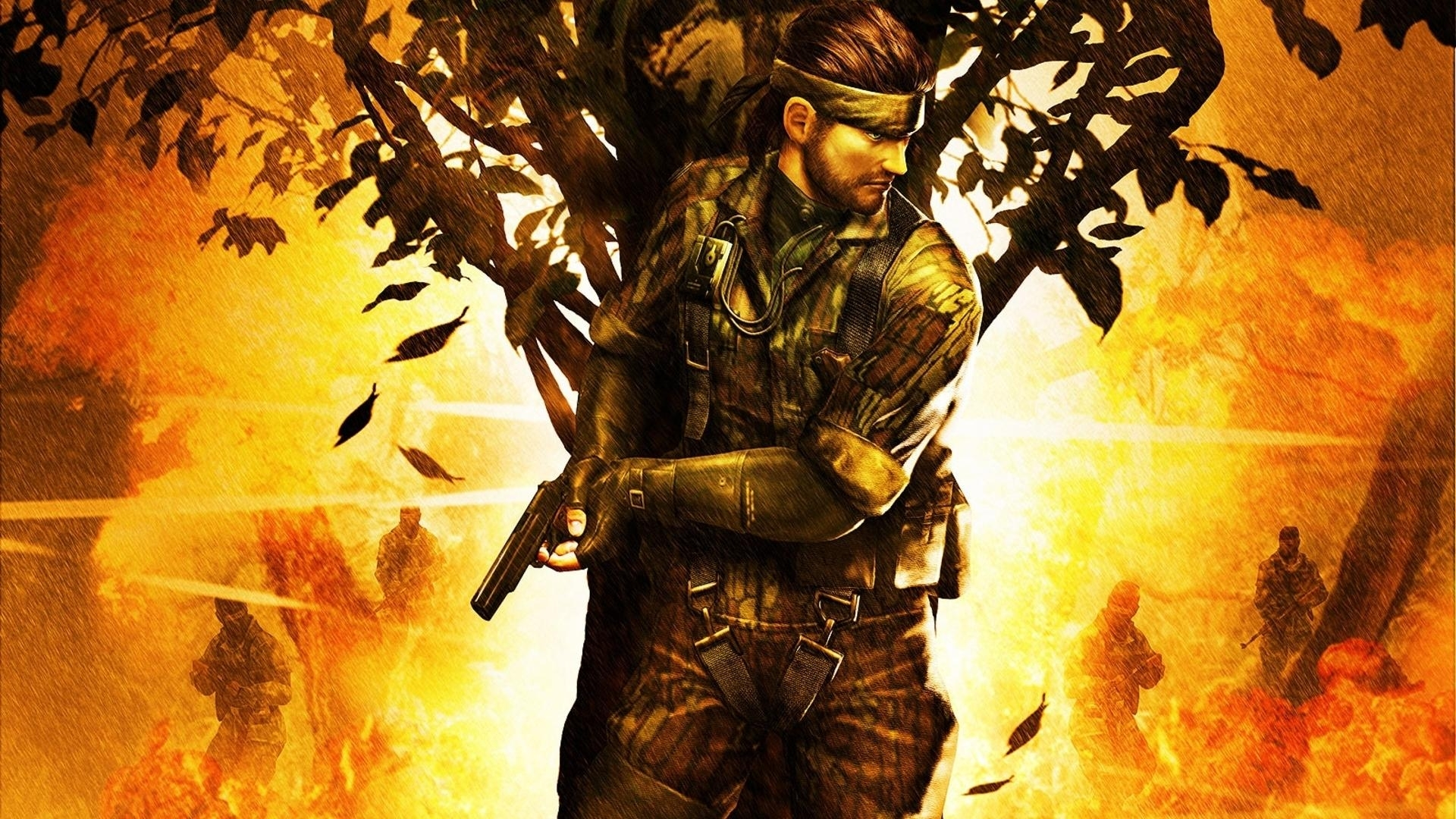 metal gear solid 3: snake eater hd desktop wallpaper : widescreen