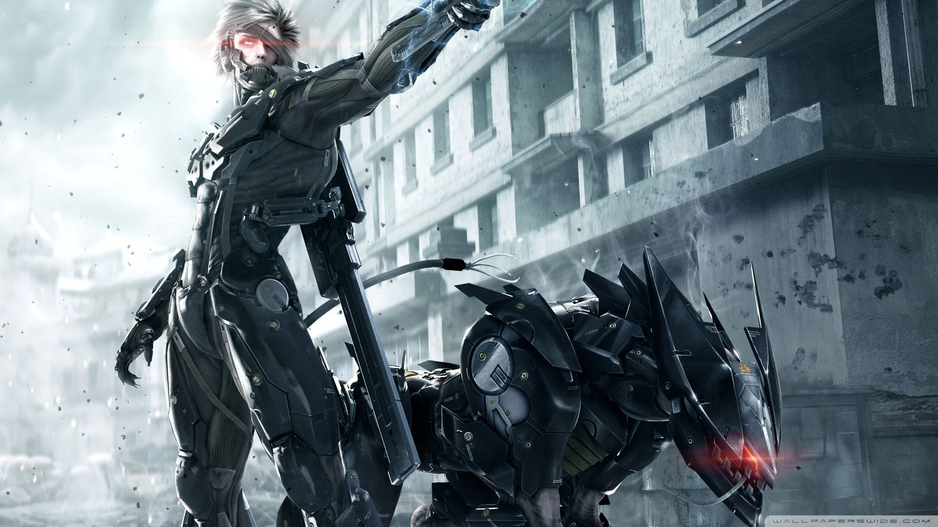 metal gear solid rising raiden wallpaper | digitalart.io
