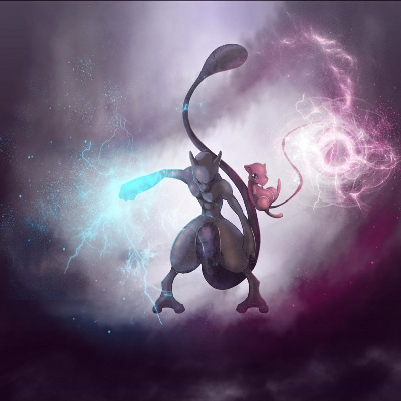 10 Best Pokemon Mew And Mewtwo Wallpaper Full Hd 19201080 For Pc