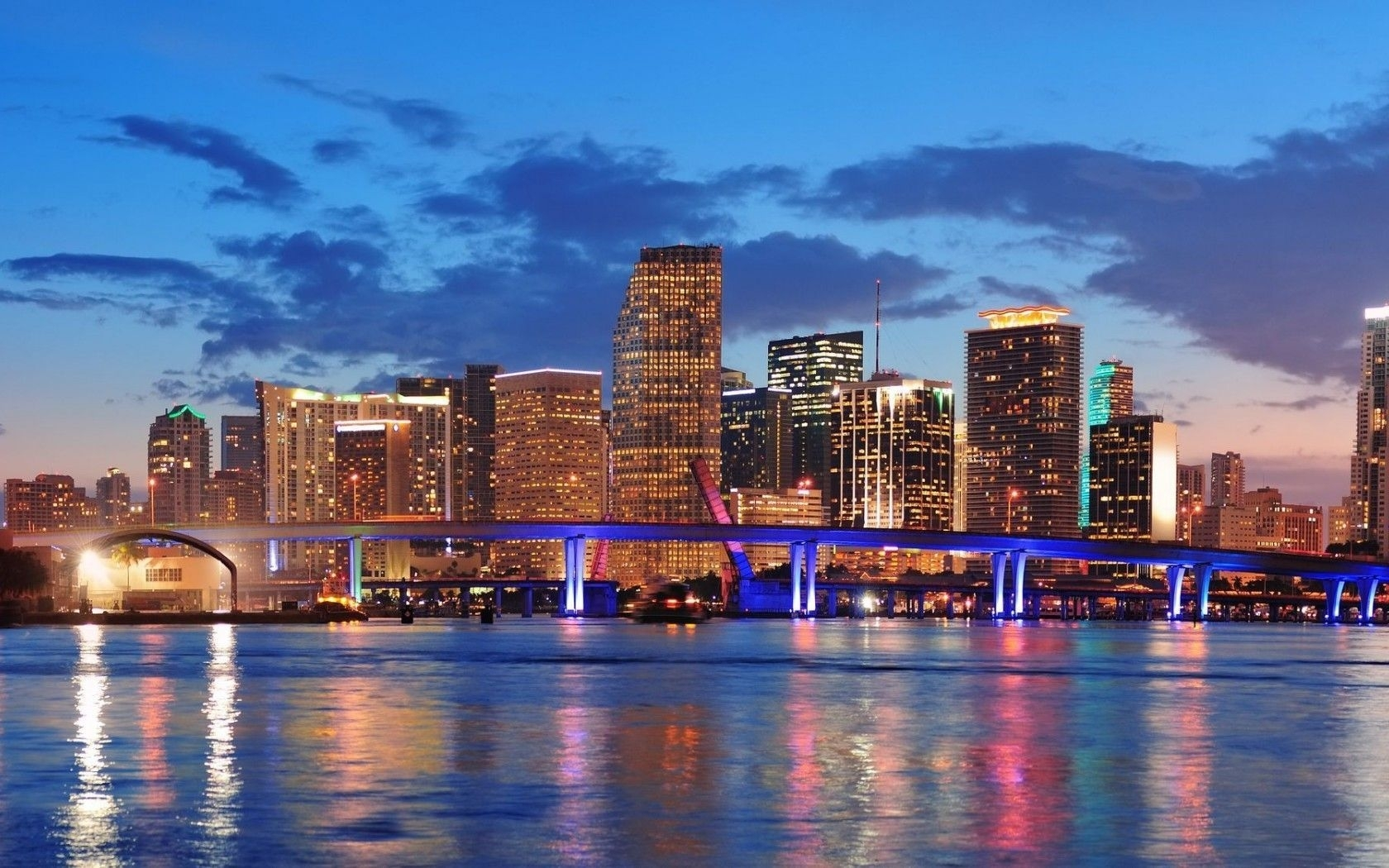 miami florida city wallpaper | hd desktop background