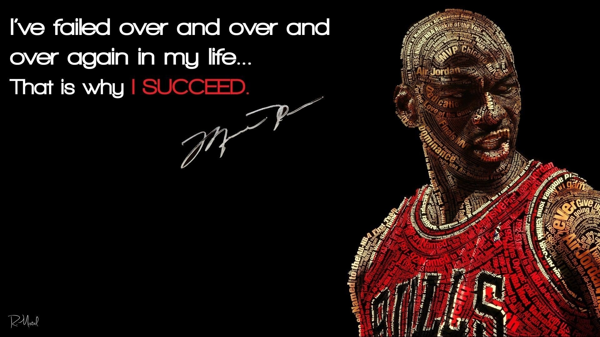 michael jordan quote hd wallpapers free download | pixelstalk
