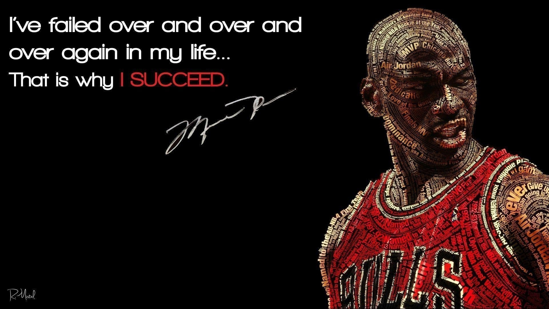 10 Latest Michael Jordan Quote Wallpaper FULL HD 1920×1080 For PC Background