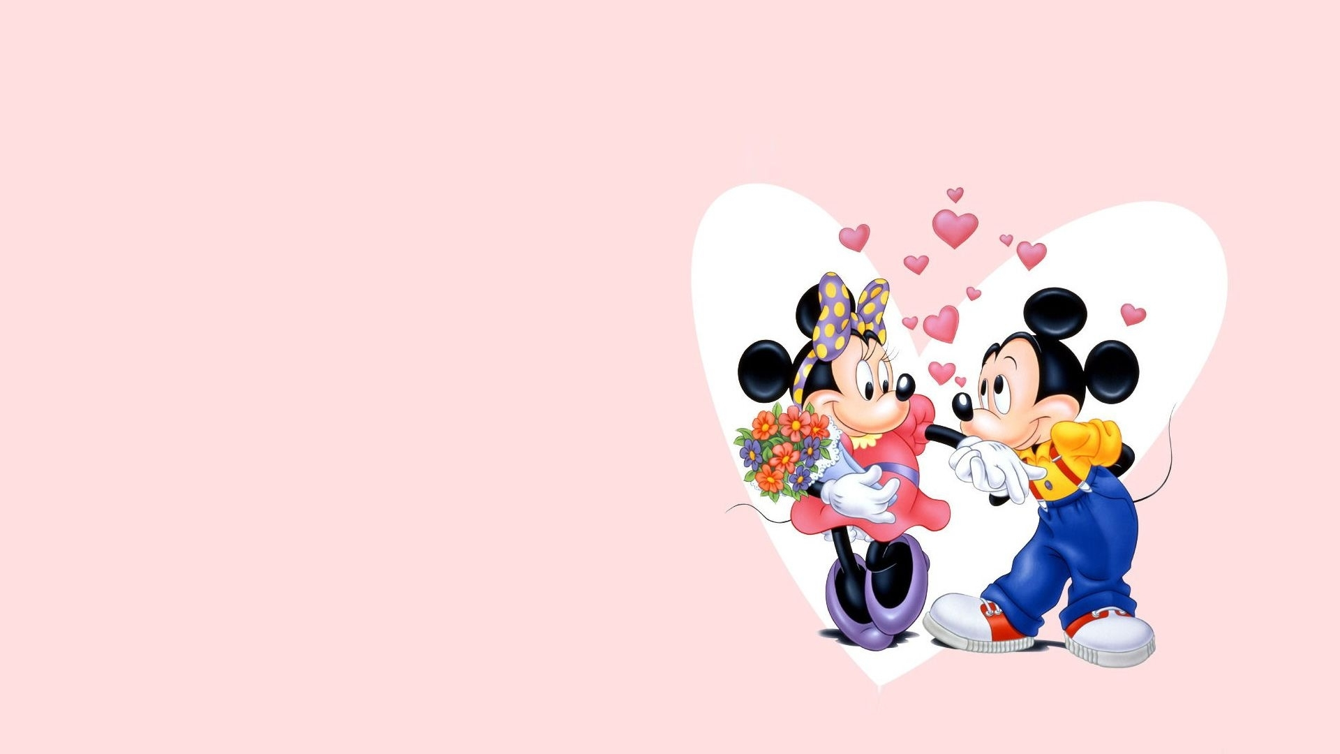 mickey and minnie mouse wallpaper hd 07988 - baltana