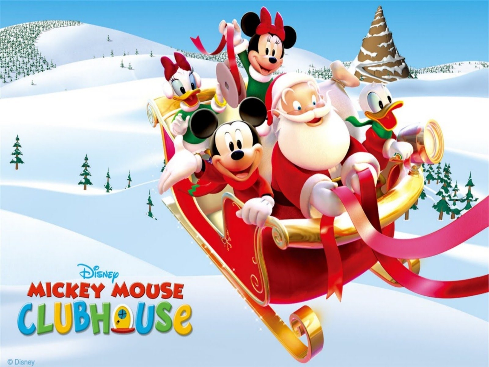 mickey mouse christmas song - youtube