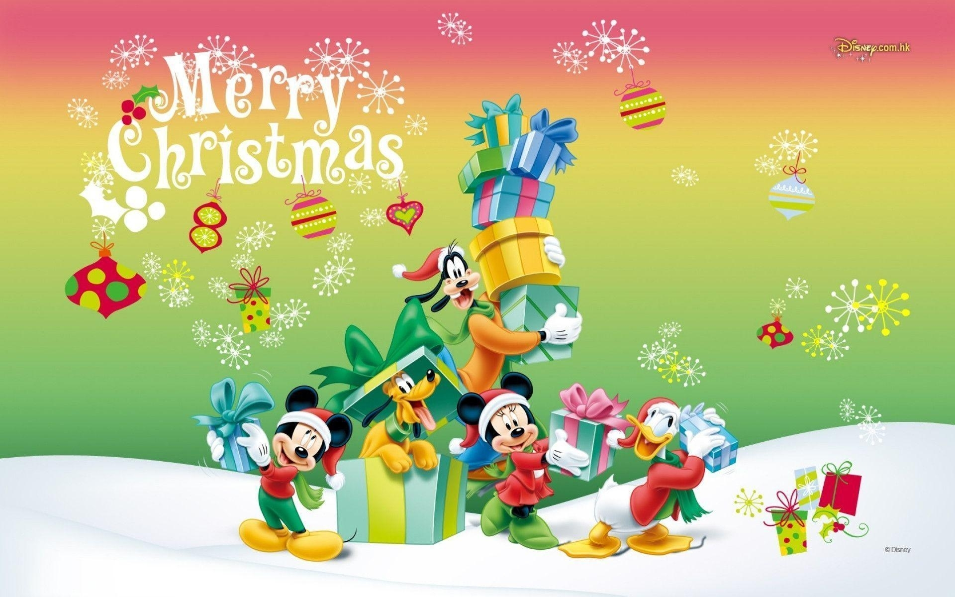 10 Best Mickey Mouse Christmas Wallpapers FULL HD 1080p For PC Background