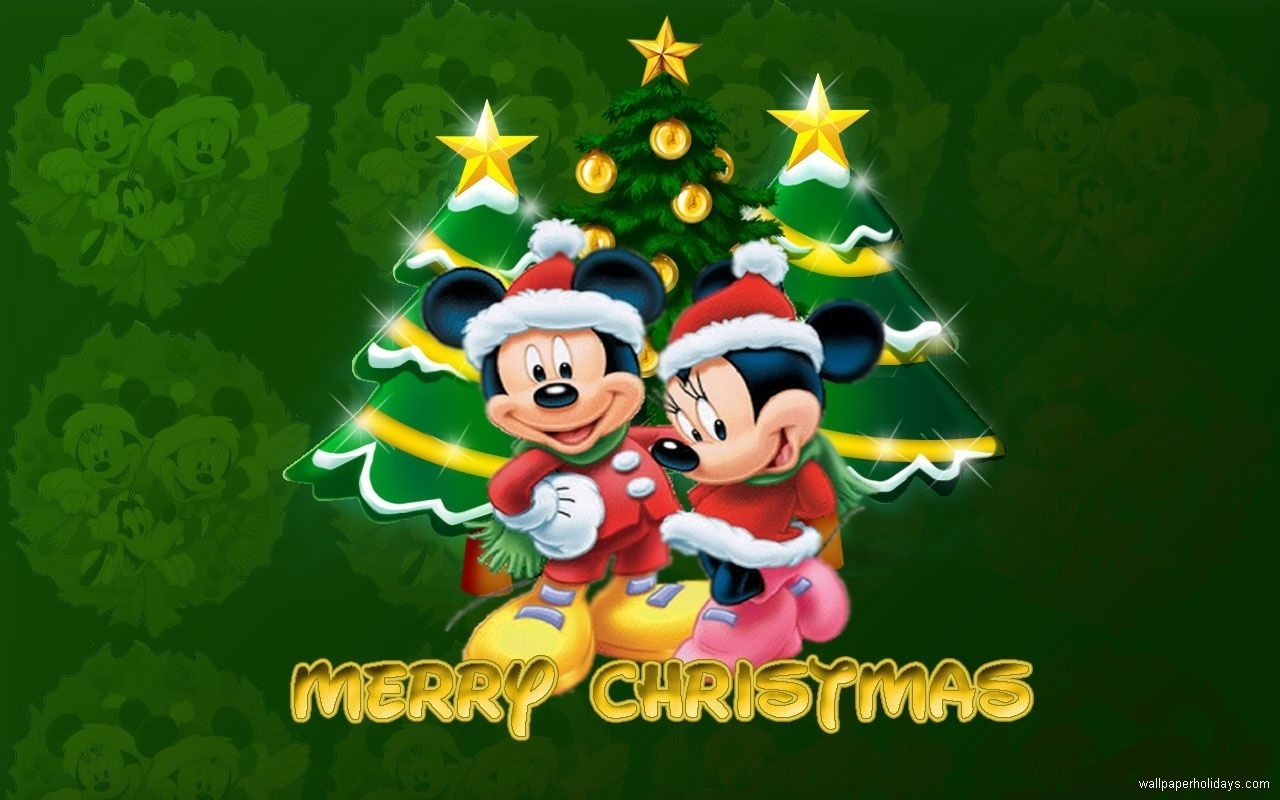mickey mouse merry christmas wallpaper pictures, photos, and