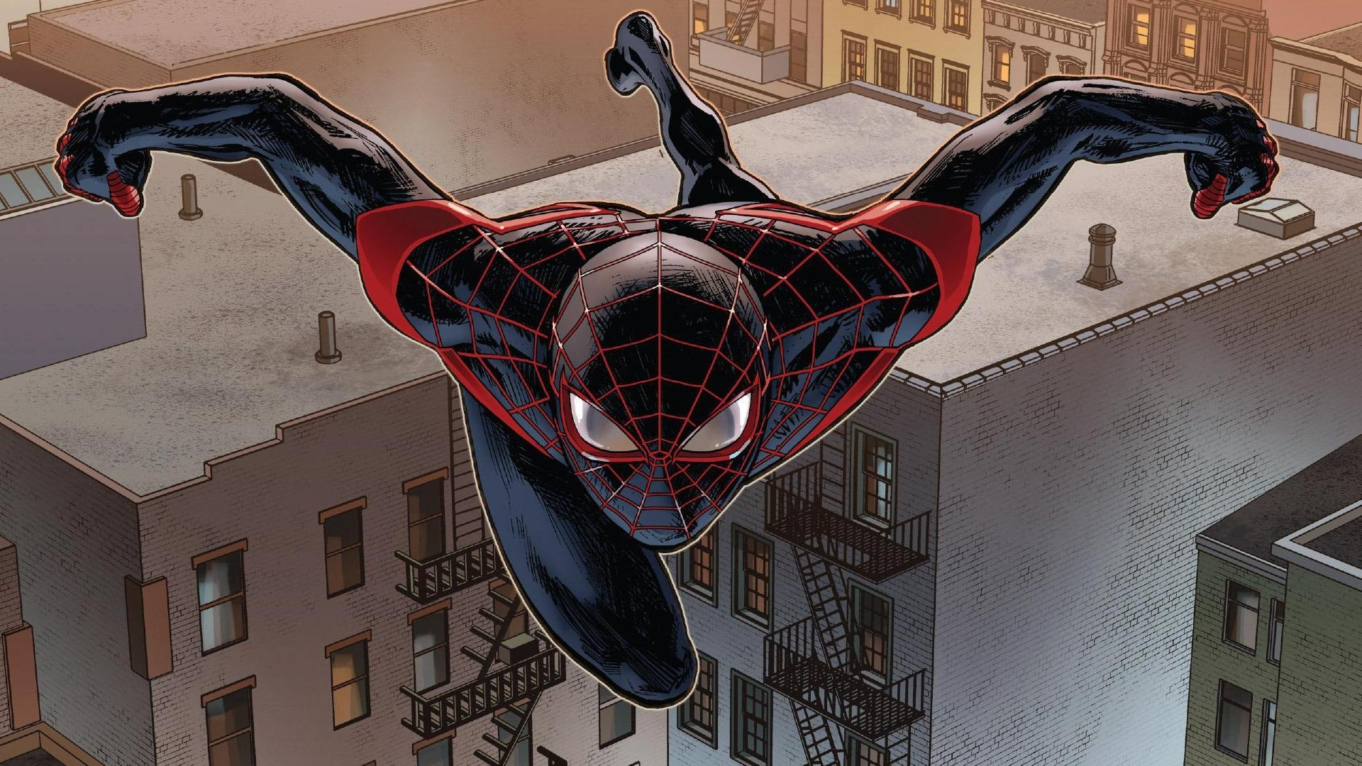 miles morales images miles morales: ultimate spider-man hd wallpaper