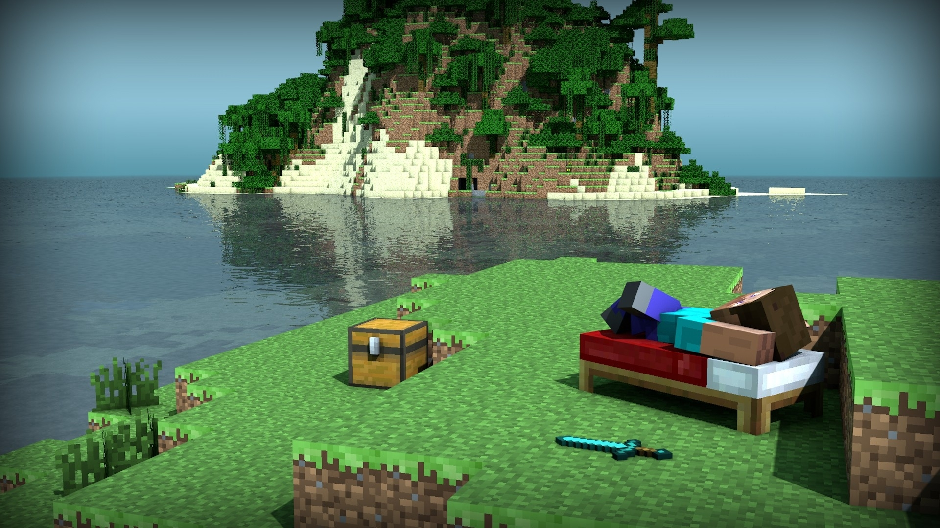 minecraft full hd wallpaper and background image | 1920x1080 | id:246225