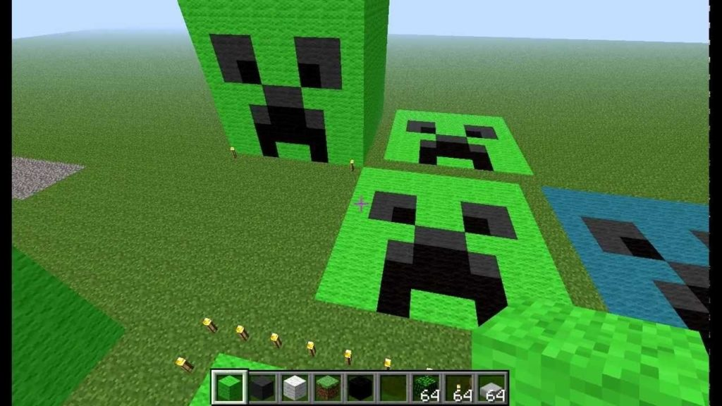 10 Most Popular Pictures Of A Creeper Face FULL HD 1080p For PC Background 2018 free download minecraft how to make a creeper face youtube 1024x576