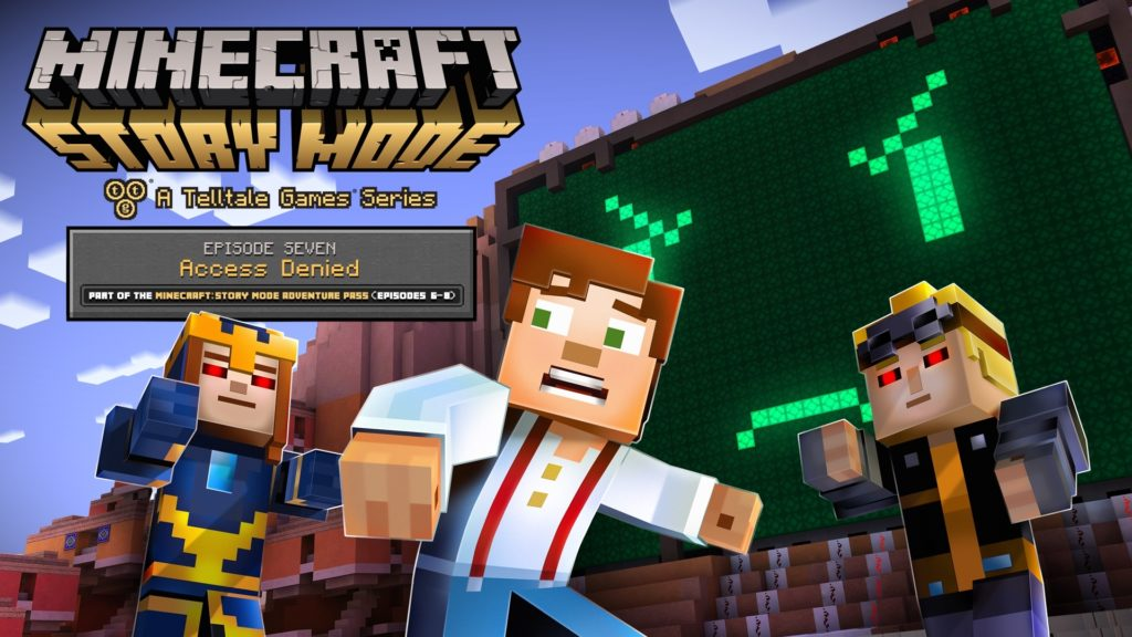 10 Best Minecraft Story Mode Wallpaper FULL HD 1080p For PC Desktop 2021 free download minecraft story mode access denied review capsule computers 1024x576