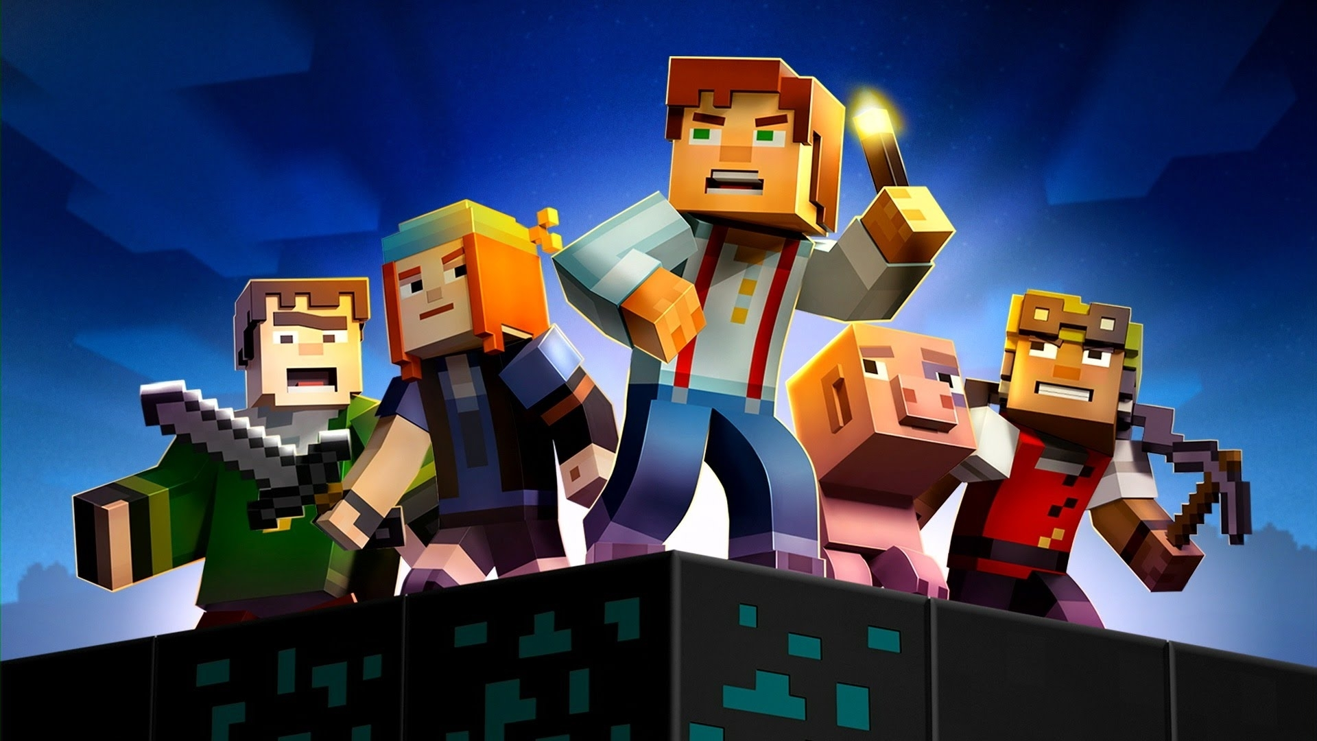 minecraft story mode - chap 6 - ep 2 - youtube