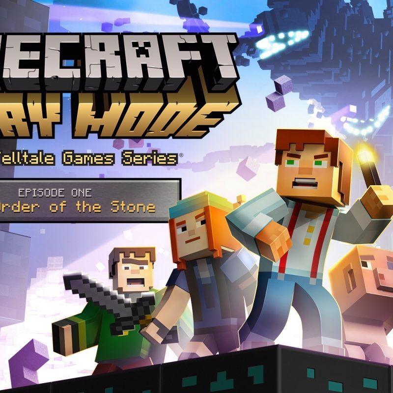 10 Top Minecraft Story Mode Wallpapers FULL HD 1920×1080 For PC Background 2018 free download minecraft story mode hd wallpapers free download 1 800x800