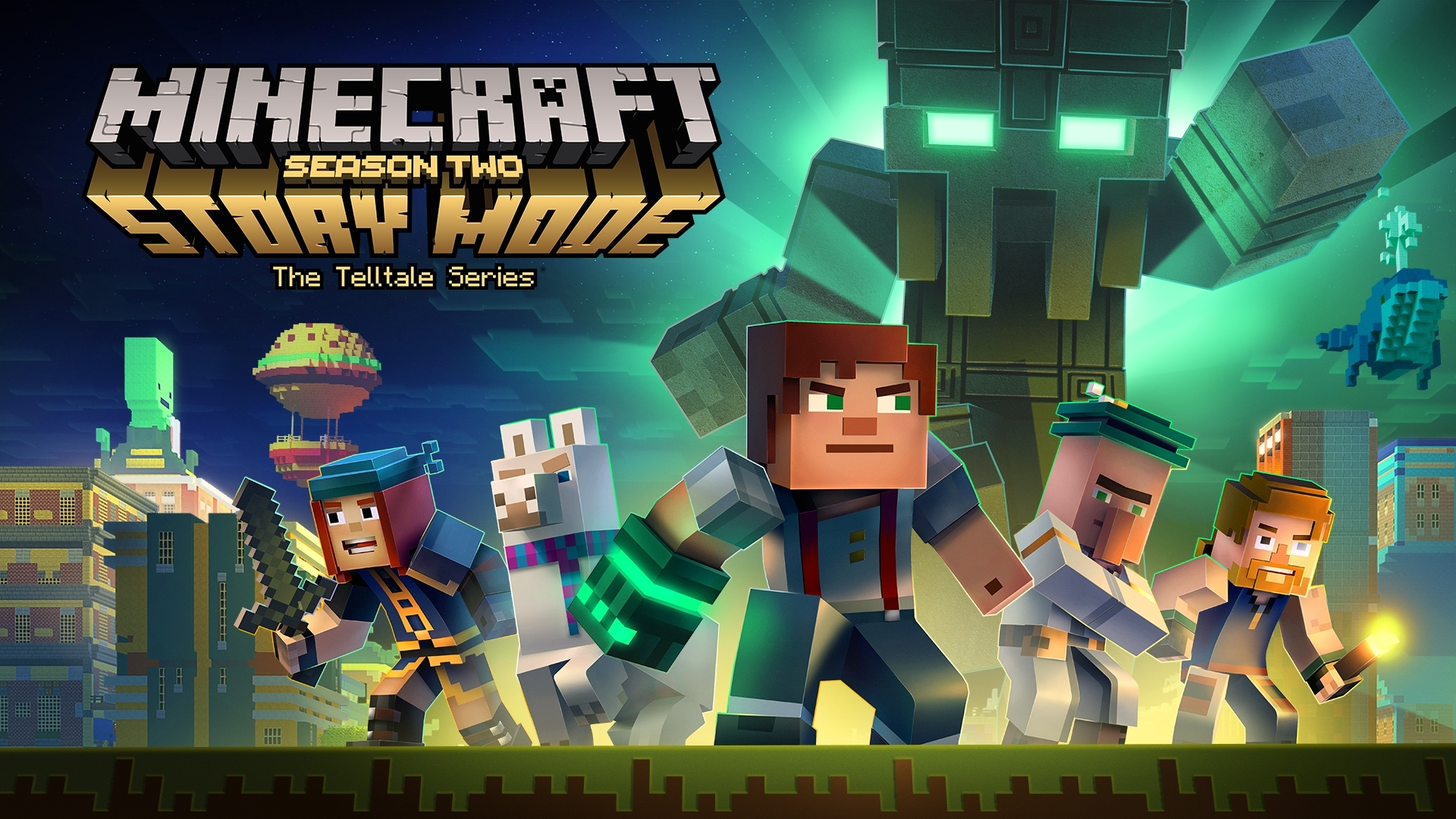 minecraft: story mode: season 2 gets new trailer to kick off a new