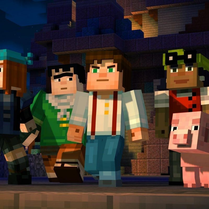 10 Top Minecraft Story Mode Wallpapers FULL HD 1920×1080 For PC Background 2018 free download minecraft story mode wallpapers wallpaper cave 1 800x800