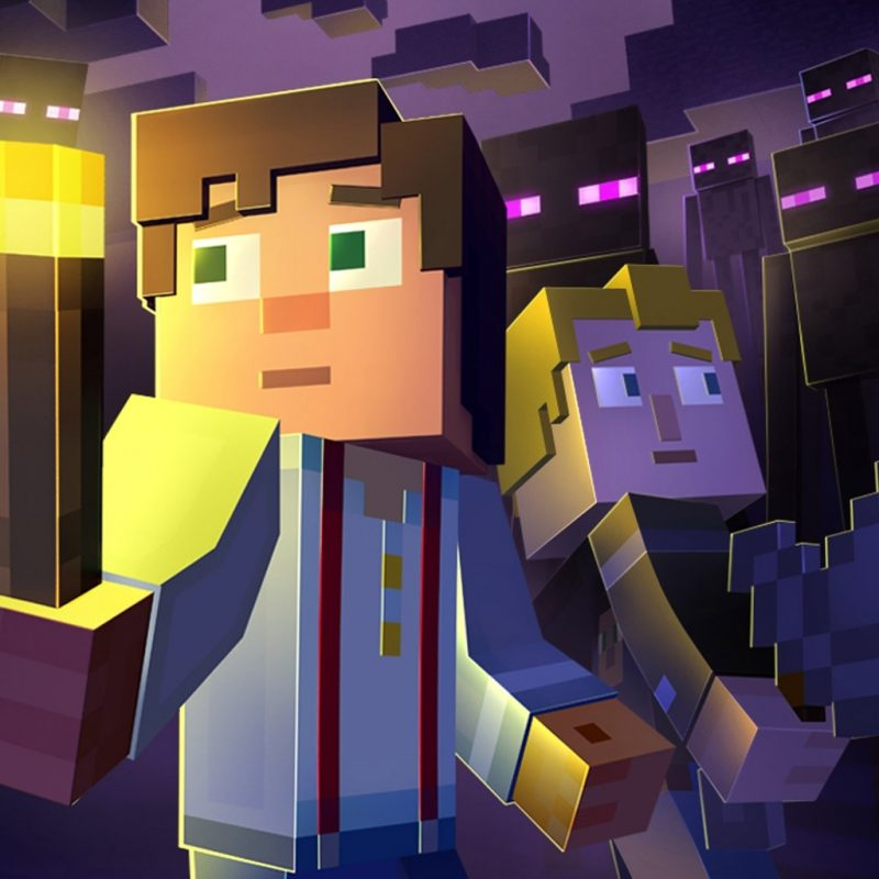 10 Top Minecraft Story Mode Wallpapers FULL HD 1920×1080 For PC Background 2018 free download minecraft story mode wallpapers wide desktop wallpaper box 800x800