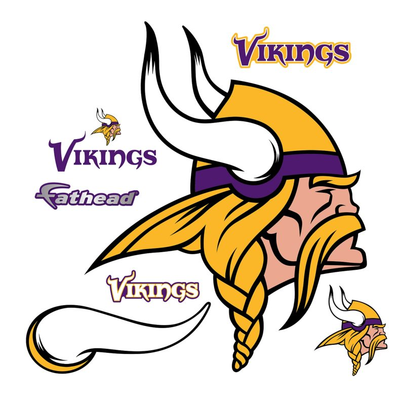 10 Best Minnesota Vikings Pics Logo FULL HD 1920×1080 For PC Background 2018 free download minnesota vikings logo wall decal shop fathead for minnesota 800x800