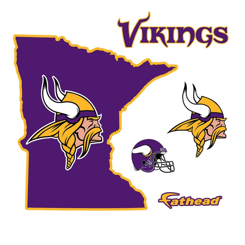 10 Best Minnesota Vikings Pics Logo FULL HD 1920×1080 For PC Background 2018 free download minnesota vikings state of minnesota wall decal shop fathead 800x800
