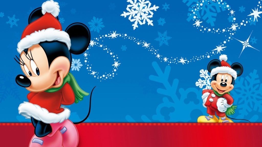 10 Best Mickey Mouse Christmas Wallpapers FULL HD 1080p For PC Background 2018 free download minnie and mickey mouse christmas wallpaper hd wallpapers13 1024x576