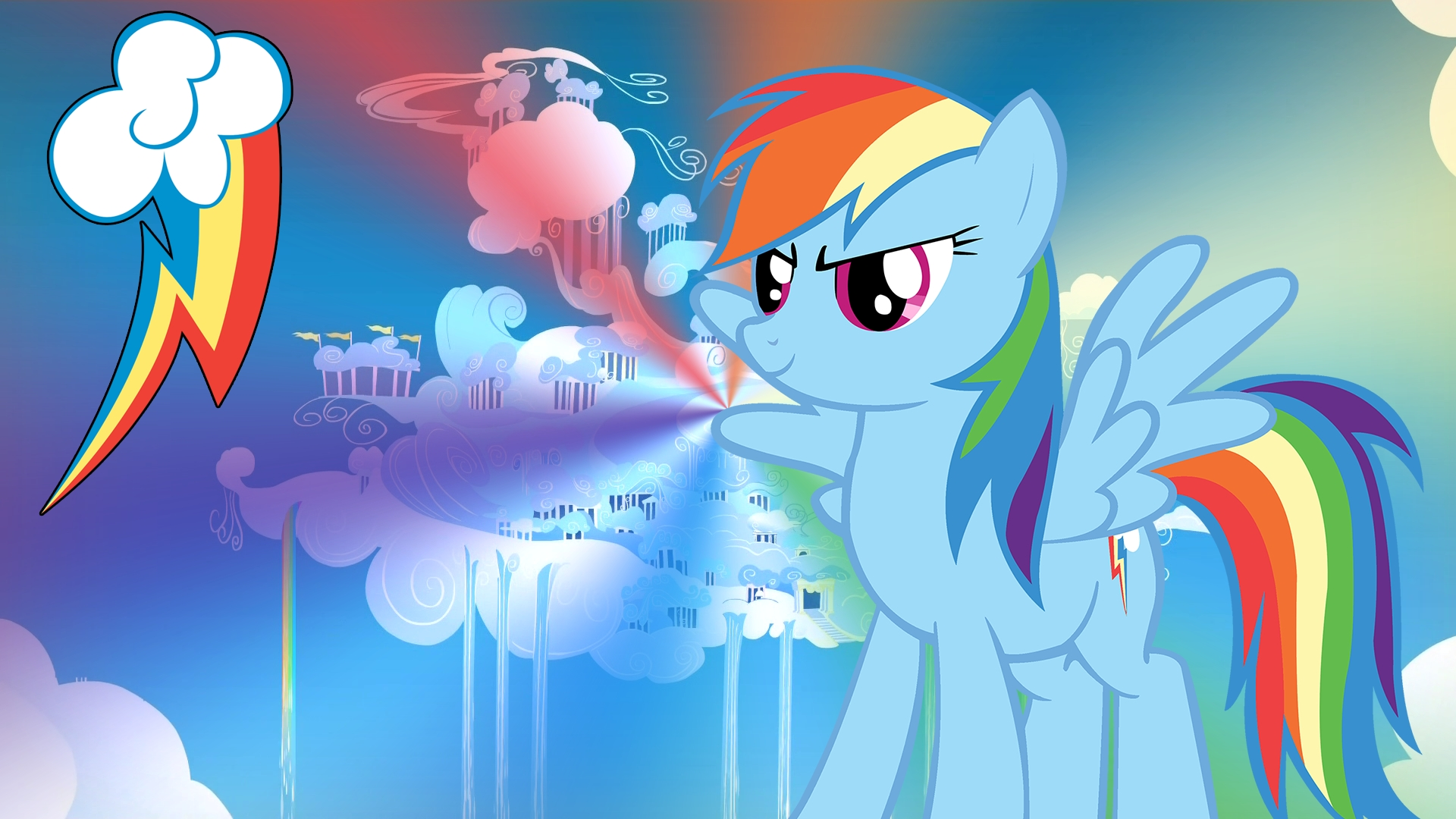 mlp rainbow dash wallpaper | rainbow dash - my little pony wallpaper