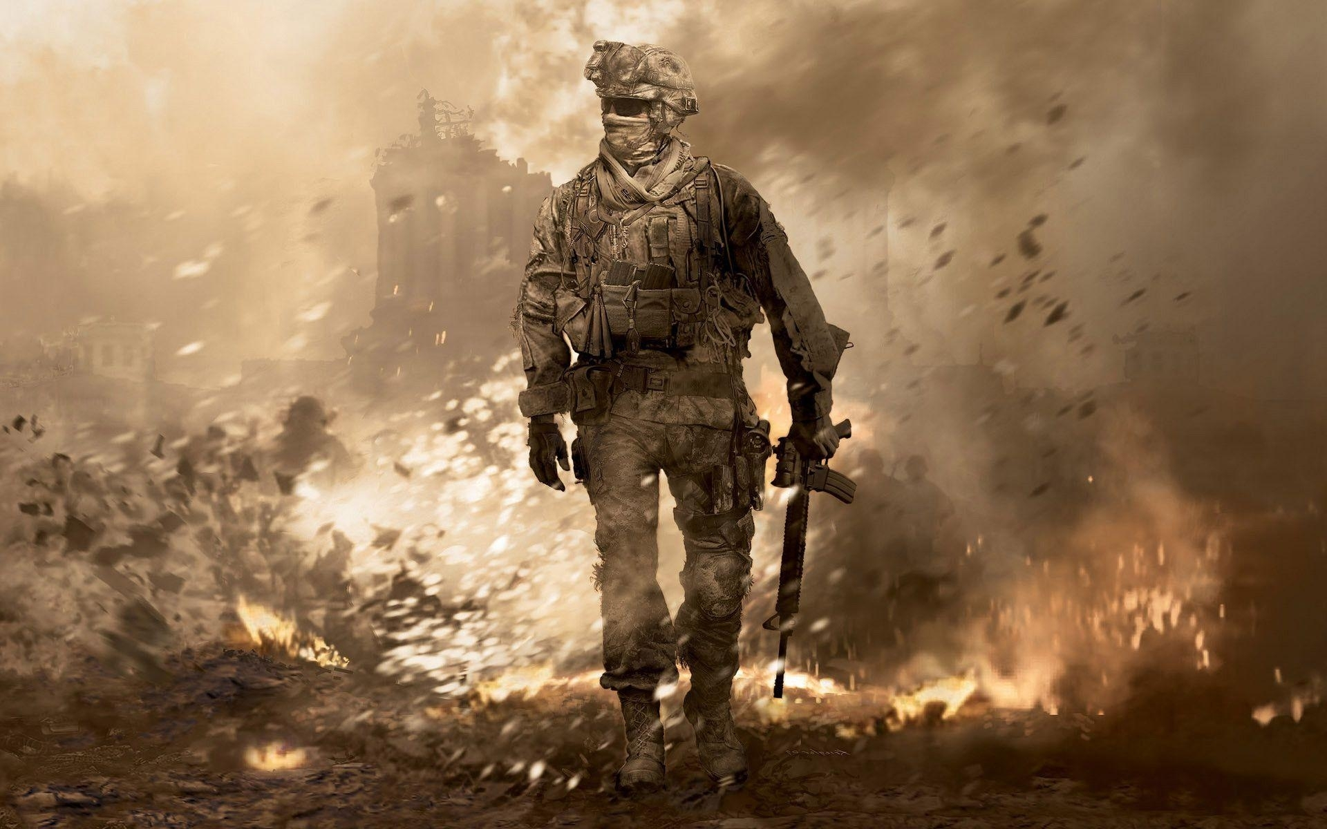 10 New Call Of Duty Modern Warfare 2 Wallpaper FULL HD 1080p For PC Background