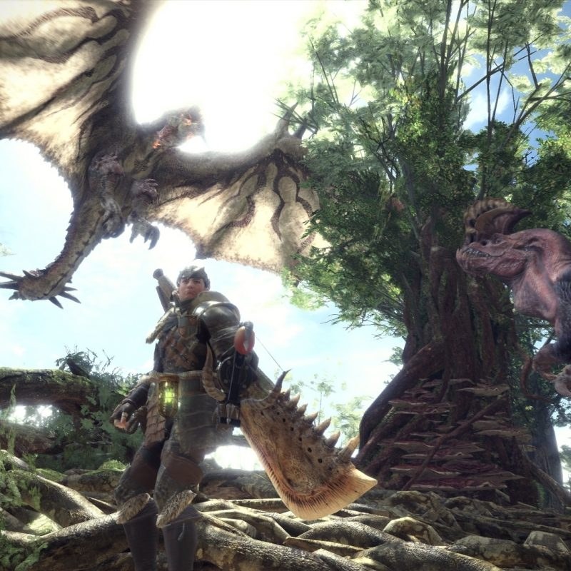 10 Top Monster Hunter World Hd Wallpaper FULL HD 1080p For PC Desktop 2018 free download %name