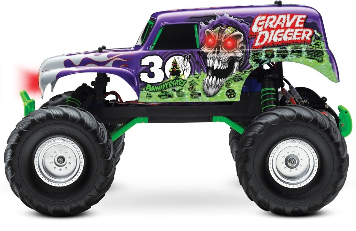 monster jam grave digger toy for kids - youtube
