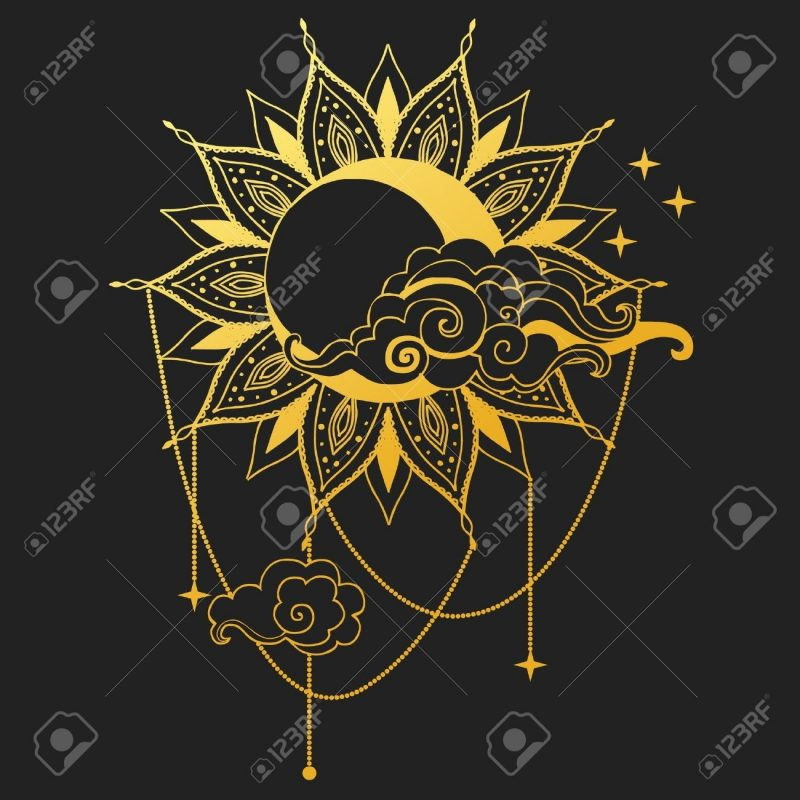 10 Most Popular Moon And Sun Background FULL HD 1080p For PC Background 2020 free download moon and sun on black background vector illustration royalty free 800x800