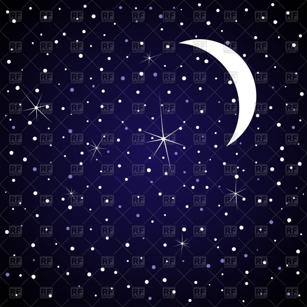 10 Best Images Of Night Sky With Stars FULL HD 1080p For PC Background 2018 free download moon in night sky with stars royalty free vector clip art image 1024x1024